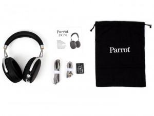 Le parrot zik 2.0 avec ses accessoires
